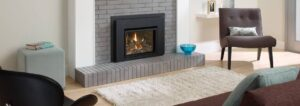 vented gas fireplace