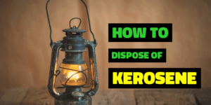 Method to dispose of kerosene